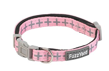 FuzzYard Dog Collar North Yeezy Pink Extra Small