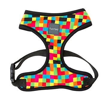 FuzzYard Dog Harness Multi Colour Extra Large