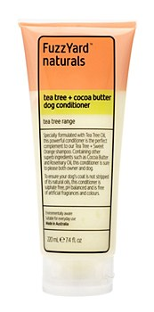 FuzzYard Dog Conditioner Tea Tree and Cocoa Butter 220ml