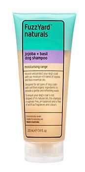 FuzzYard Dog Shampoo Moisturising Jojoba and Basil 220ml
