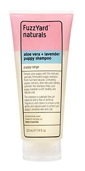 FuzzYard Puppy Shampoo Aloe Vera and Lavender 220ml