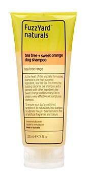 FuzzYard Dog Shampoo Tea Tree and Sweet Orange 220ml