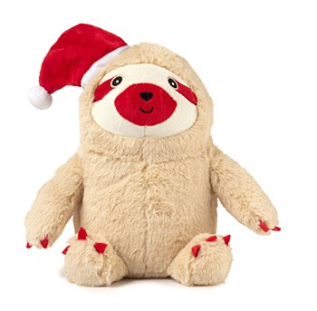 FuzzYard Sloth Large Plush Christmas Dog Toy