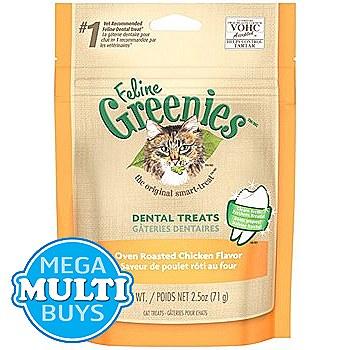 Greenies Cat Dental Treats with Chicken 71g