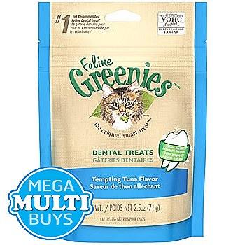 Greenies Cat Dental Treats with Tuna 71g