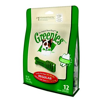 Greenies Dog Dental Treats for Regular Dogs 340g