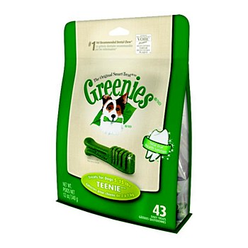 Greenies Dog Dental Treats for Teenie Dogs 340g