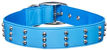 Gummi Dog Collar Stud Extra Large Blue