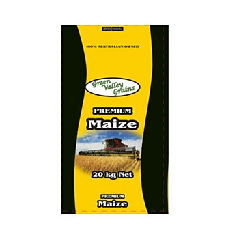 Green Valley Grains Premium Maize 20kg Poultry Food