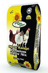 Green Valley Grains Open Range Premium Layer Mix 20kg Poultry Food