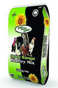 Green Valley Grains Open Range Poultry Mix 20kg Poultry Food