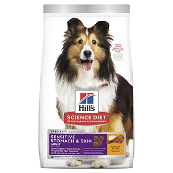 Hill's Science Diet Canine Adult Sensitive Stomach & Skin 12kg Dry Dog Food