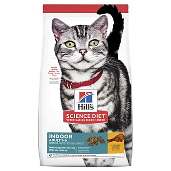 Hill's Science Diet Feline Adult Indoor 2kg Dry Cat Food