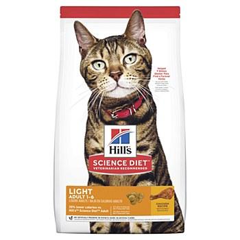 Hill's Science Diet Feline Light 2kg Dry Cat Food