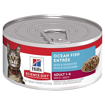 Hill's Science Diet Adult Ocean Fish Entree 156g Wet Cat Food