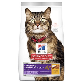 Hill's Science Diet Feline Sensitive Skin and Stomach 1.6kg Dry Cat Food