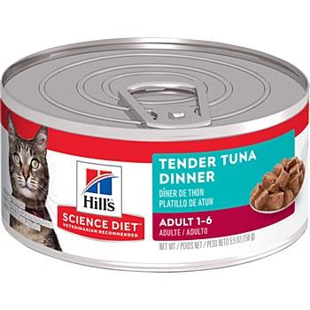 Hill's Science Diet Adult Tender Tuna Dinner 156g Wet Cat Food