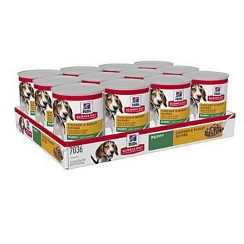 Hill's Science Diet Puppy Chicken & Barley Entree 370g X 12 Wet Dog Food