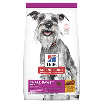 Hill's Science Diet Canine Adult 7+ Small Paws 1.5kg Dry Dog Food