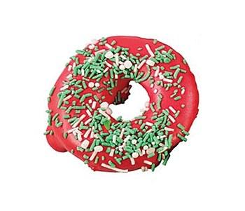 Huds and Toke Christmas Donut Dog Treat