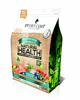 Ivory Coat Dog Grain Free Fish and Salmon 13kg Dry Dog Food