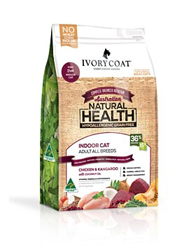 Ivory Coat Grain Free Indoor Chicken & Kangaroo 3kg Dry Cat Food