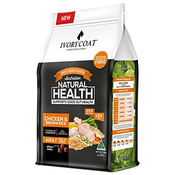 Ivory Coat Adult Chicken & Brown Rice 2.5kg Dry Dog Food