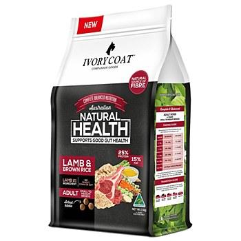 Ivory Coat Adult Lamb & Brown Rice 2.5kg Dry Dog Food