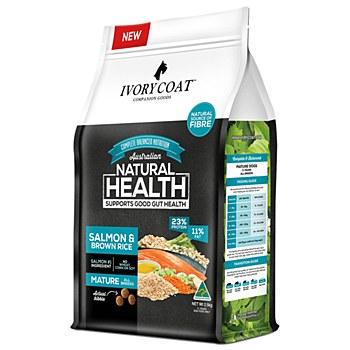 Ivory Coat Mature Salmon & Brown Rice 18kg Dry Dog Food