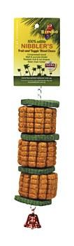 Birdie Wooden Corn & Cucumber Large Bird Toy
