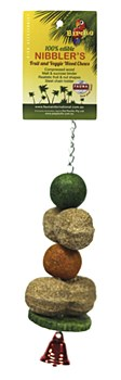 Birdie Peanut & Melon Balls Small Bird Toy