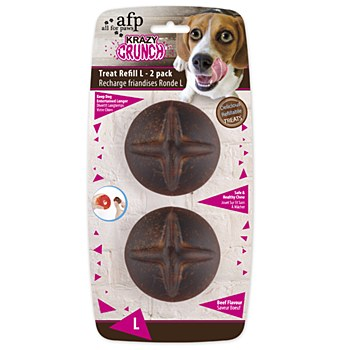 All For Paws Krazy Crunch Treat'A'Ball Refill Large