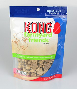 KONG Farmyard Friends Roast Lamb 200g Dog Treats