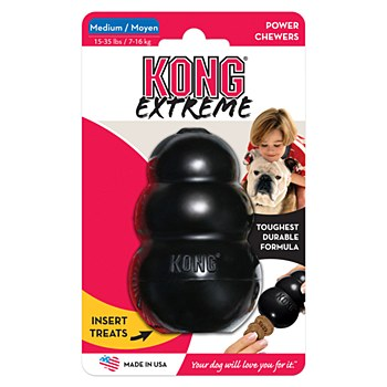 Kong Extreme Dog Toy Medium Black