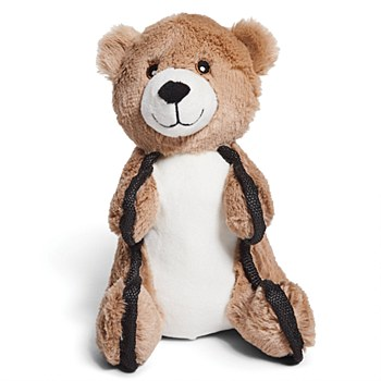 Kazoo Furries Tough Bear Medium Dog Toy