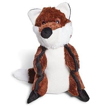 Kazoo Furries Tough Raccoon Medium Dog Toy