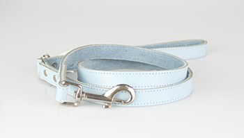 Dogue Dog Lead Plain Medium Blue
