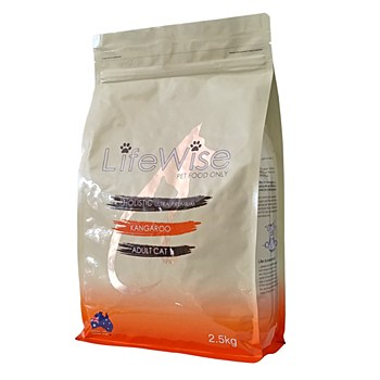 LifeWise Holistic Ultra Premium Kangaroo Adult Cat Dry Food 2.5kg