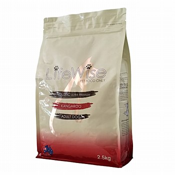 LifeWise Holistic Ultra Premium Kangaroo Adult Dog Dry Food 2.5kg