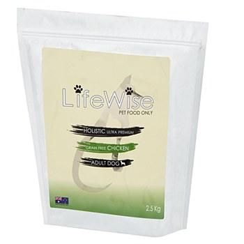 LifeWise Holistic Ultra Premium Grain Free Chicken Adult Dog Dry Food 2.5kg
