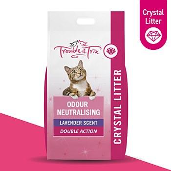 Trouble & Trix Crystal 15 Litre Cat Litter