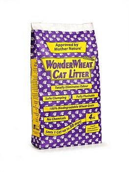 Wonder Wheat Cat Litter 4kg