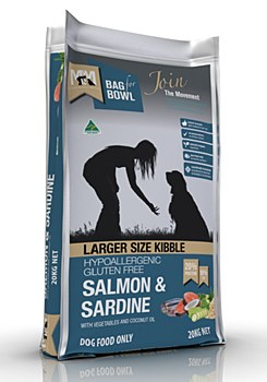 Meals for Mutts Gluten Free Large Breed Salmon & Sardine 20kg Dry Dog Food