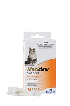 Moxiclear For Cats Over 4kg (6 Pack)