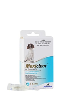 Moxiclear For Dogs 10-25kg (6 Pack)