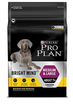 Pro Plan Bright Mind Medium & Large Adult 7+ 12kg Dry Dog Food