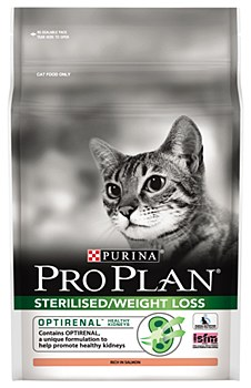 Pro Plan Optirenal Cat Weight and Sterilised 2.5kg Dry Cat Food