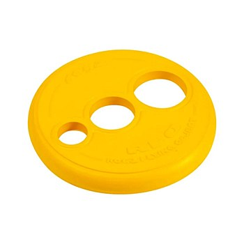 Rogz RFO Frisbee Disc Fetch Dog Toy Yellow