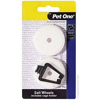 Pet One Salt Wheels 100g Small Pet Treats (2 Pack)