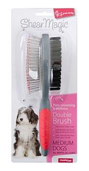 Shear Magic Dog Brush Double Sided Medium